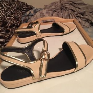 Van Eli Sandals Pink Metallic Size 10 Shoes